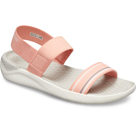 Crocs LiteRide Sandals Damen melon/white